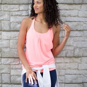 Lululemon Practice Freely Tank Bleached Coral